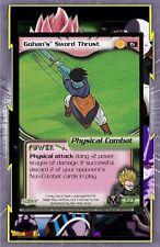 🌈Gohan's Sword Thrust - #15 - Dragon Ball Card - CCG TCG English