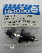 Hirobo 0414-116 Heckgetriebe Umlenk Ritzel Set Counter Gear Set (For Belt Driv)