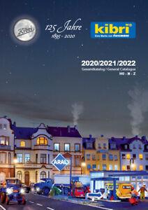 Kibri 99904 Hauptkatalog 2020/2021/2022 Deutsch/Englische Ausgabe #NEU in OVP#