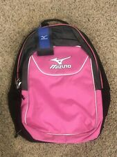 Mizuno Bolt Backpack Bookpack Black/Pink Nwt
