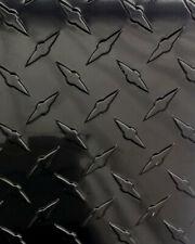 24 X 48 Black Gloss Aluminum Diamond Plate Sheet 025 Thick
