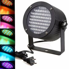 4pcs 86 RGB LED Light Par DMX-512 Stage Lighting Laser Projector Party DJ Disco