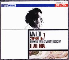 MAHLER,SYMPHONY NO.7-ELIAHU INBAL.DENON JAPAN.