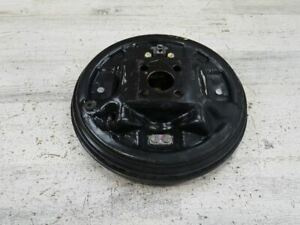 2012-2017 NISSAN VERSA REAR RIGHT BRAKE DRUM ASSEMBLY PLATE OEM 105406