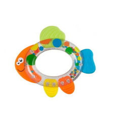 Baby Educational Rattle with Teether 3m+ Teething Toy, Fish
