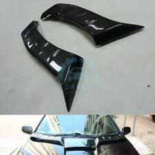 1*For Toyota Celica Zzt231 00-05 Hood Spoiler Bonnet Diffuser Wing Carbon Fiber0