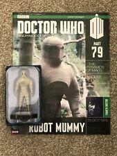 Eaglemoss Doctor Who figurine collection - #79: ROBOT MUMMY (pyramids of mars)