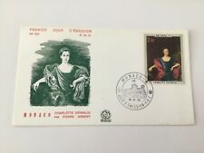Enveloppe 1er Jour - Monaco : Charlotte Grimaldi par Pierre Gobert - n°323