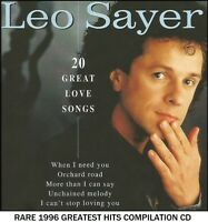 Leo Sayer - A Very Best 20 Greatest Hits Collection RARE 1996 CD 70's 80's Pop