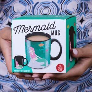 Mermaid Heat Sensitive Mug Ceramic Colour Changing 300ml *BOXED FAST UK DISPATCH