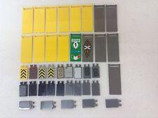 LEGO X40 Pcs 30292 Banners 3x8 Panels Flags Sails Bulk Lot Parts Pieces