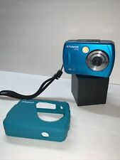 Polaroid iS048 Digital Camera 3M Waterproof Blue With Protective Case & Strap -
