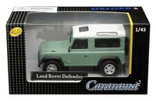 Land Rover Defender Pastel Green & White 1/43 Scale By Cararama 4-55240