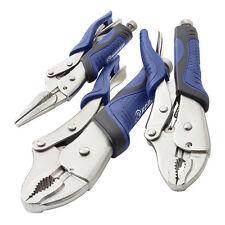 Long Nose Multi Grip Locking Plier Set Kit Vice Grips Multi Grips PLIERS Set