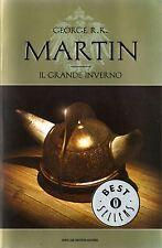 GEORGE R.R. MARTIN Il Grande Inverno OSCAR MONDADORI NEW ITA BOOK BEST SELLER