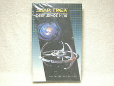 STAR TREK DEEP SPACE NINE VHS - LET HE WHO IS WITHOUT SIN... - THINGS PAST - NEW