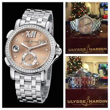 Ulysse Nardin Dual Time GMT Diamond San Marco Stainless Steel 243-22B-7/30-07