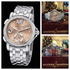 Ulysse Nardin Dual Time GMT Diamond San Marco Stainless Steel 243-22B-7/30-07