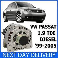 VW PASSAT 3B3 3B5 1.9 TD TDi 2000-2005 TURBO DIESEL 90amp NEW ALTERNATOR 3B