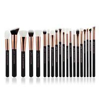 20pcs Rose Gold Makeup Brushes Set Powder Eyeshadow Eyeliner Brush Tool Jessup