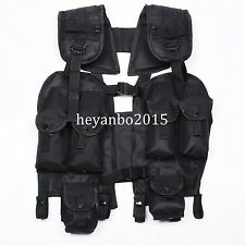 MARINES MILITARY TACTICAL BLACK LOAD BEARING COMBAT ASSAULT LBV 88 VEST