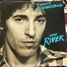BRUCE SPRINGSTEEN THE RIVER 2LP 1980 COLUMBIA PC2 36854 WITH INNERS AND LYRICS