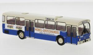 Brekina 50800 - 1/87 Mercedes O 305 Bus Urbain, Hsb - Ziegler, 1972 - Neuf