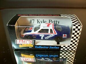 Kyle Petty #7 7/11 7 Eleven 1985 Ford Thunderbird 1:64 RCCA