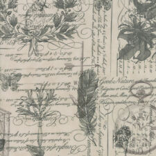 Quill 3 Sisters Botanical Sketchbook Parchment 44150 11 Moda Quilting Cotton
