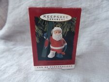 "Hallmark Collectible Ornament ""Christmas Break"" 1993 Santa"