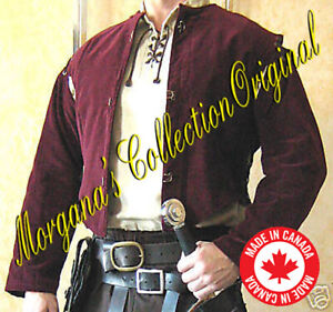 Medieval Celtic SCA Knight Justaucorps Doublet Jacket (with Sleeves)