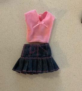 Barbie -Clothes Genuine, Skirt & top