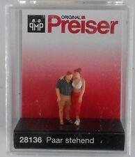 Preiser 28136 Standing Couple 00/H0 Model Railway Figures