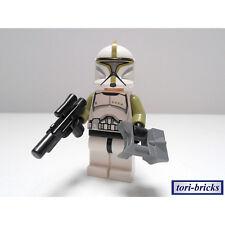 Lego Star Wars Figur Clone Trooper Sergeant + Blaster u Fernglas »NEU« aus 75000