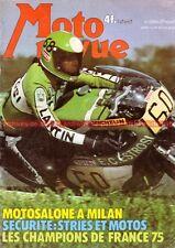 MOTO REVUE 2244 HARLEY DAVIDSON 175 SS HONDA CB 500 Four Salon de Milan 1975