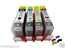 4Refillable ink cartridge with chip HP 920 XL OfficeJet 6500a Plus 7000 7500a 1P