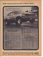 1971 PLYMOUTH DUSTER ~ BUTCH LEAL ~ CLASSIC RACE CAR AD