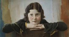 Bildnis einer jungen Frau um 1925-35.