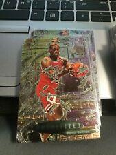 1996-97 Metal #231 Dennis Rodman METtallized bulls!