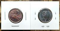 Canada 2017 Classic Unreleased BU UNC 25 Cent Quarter!!