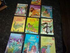 Disney Lot Of 10 Wonderful World Of Reading Classics All Hardback Books