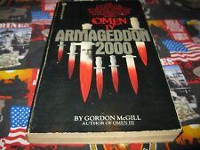 Omen Four : Armageddon Two Thousand by Gordon McGill