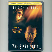 The Sixth Sense 1999 PG-13 thriller movie, new DVD Bruce Willis, Collette Osment