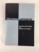Reading Japanese Eleanor Jorden & Hamako Chaplin Yale Language Series 1976