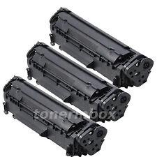 3x Canon 104 FX10 Compatible Toner For ImageClass MF4150 MF4270 MF4350d MF4370dn