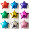 5/10Pcs Five-pointed Star Balloons Foil Helium Birthday Party Wedding Decoration