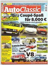 AUTO CLASSIC 6/2014, VW Scirocco GT, Mazda RX-7, MGB GT, VW K 70, Lancia Delta