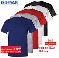 5 Pack Plain Blank Gildan 100% Heavy Cotton T-shirt Tshirt Multi Colors in Stock