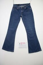 Levis 544 Flare bootcut (Cod.J577) Tg.42 W28 L34  jeans usato orlo rifatto