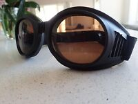 Vintage Aviator Goggles Cosplay Steampunk Motorcycle Cafe Racer Goggles